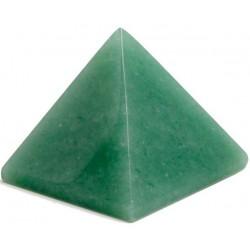 PIRÁMIDE CUARZO VERDE (Medida aprox: 4 cm)
