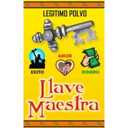 POLVO ESOTÉRICO LLAVE MAESTRA